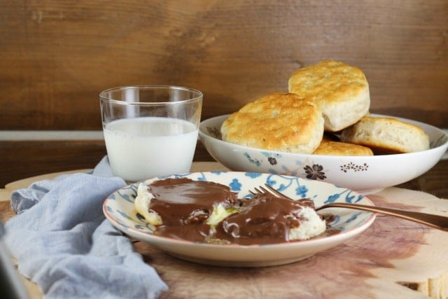 Recipe for Homemade Chocolate Gravy from MissintheKitchen.com