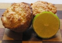 Lime Breakfast Muffins