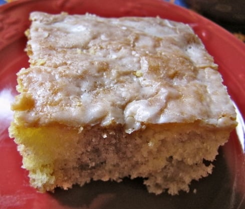 Cinnamon Swirl Coffee Cake Yellow Cake Mix