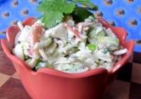 Crab & Avocado Salad