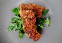 Pine Nut Crusted Chicken