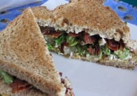 Avocado Bacon-Grilled Cheese Sandwiches