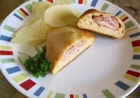 Honey Wheat Pocket Sandwiches with Ham & Swiss