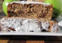 Toffee Apple Streusel Bread
