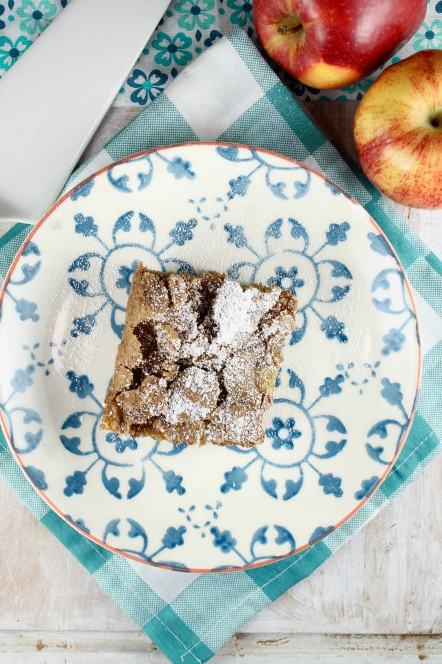 Fresh Apple Cake Recipe from MissintheKitchen.com