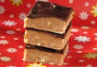 Chocolate Topped Peanut Butter Fudge