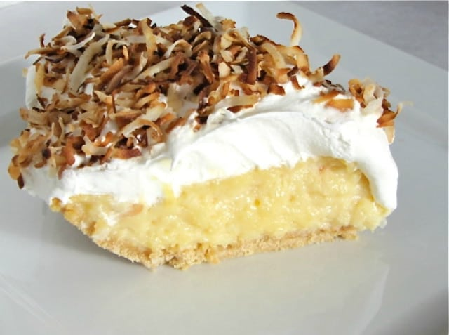 Aunt Bea's Coconut Cream Pie