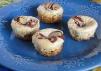 Nutella Cheesecake Bites