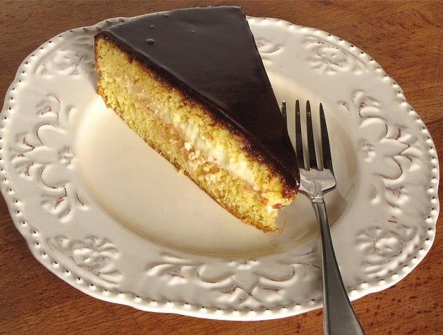 Nutella Boston Cream Pie
