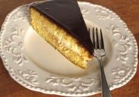 Nutella Boston Cream Pie