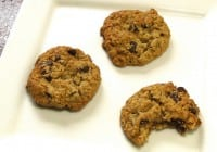 Espresso Oatmeal Chocolate Chip Cookies