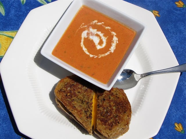 5844272538 101e3b9907 z Roasted Tomato Soup plus an OXO Giveaway!