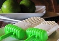 Lime Ice Cream Bars