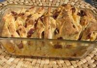 Cheesy-Bacon Pull Apart Bread