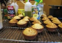 Monkey See, Monkey Do & Poppy Seed Pound Cake Muffins