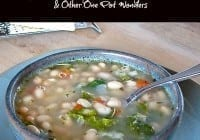 tuscan white bean soup from Miss in the Kitchen