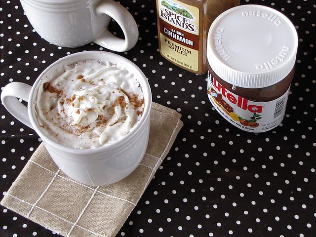 6268143876 da9fa529d3 z Cinnamon Nutella Hot Cocoa