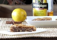 Barenjager Honey Lemon Baklava: Virtual Potluck Holiday Party