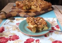 Maple-Walnut Apple Cake