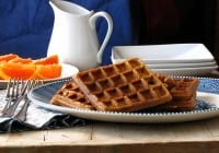 Brown Sugar-Cinnamon Waffles