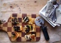 Morel Mushroom & Asparagus Tart