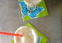 Peach Milkshakes