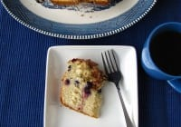 Blueberry-Browned Butter Breakfast Bread