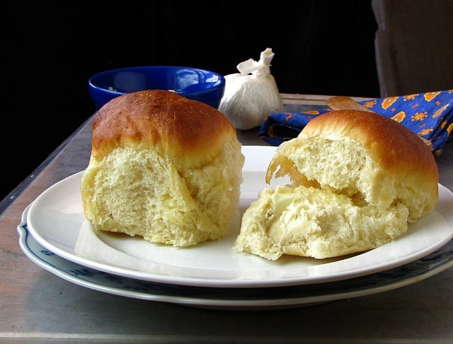 7417795696 706a22368c z Soft Dinner Rolls with Garlic Butter