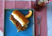 King's Hawaiian Peach Barbecue Pulled Pork