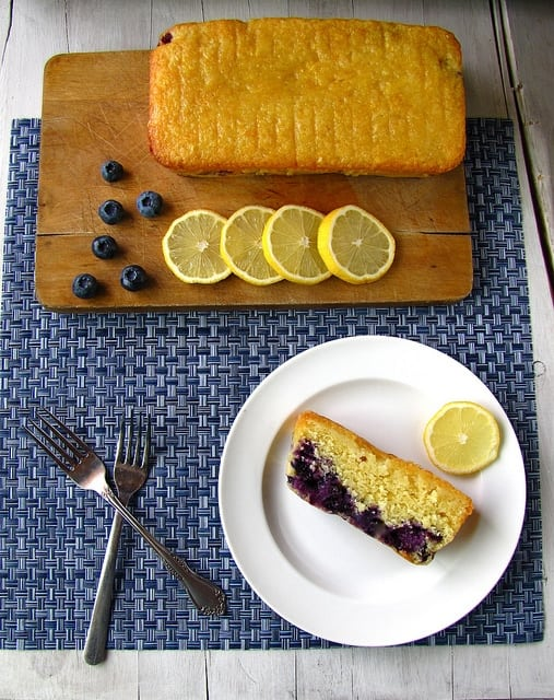 7946856490 b4aed2c07a z Sunshine Lemon Blueberry Bread