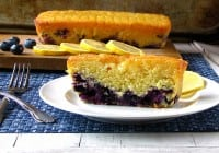 Sunshine Lemon-Blueberry Bread