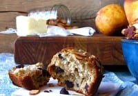 Pear & Chocolate Chip Muffins