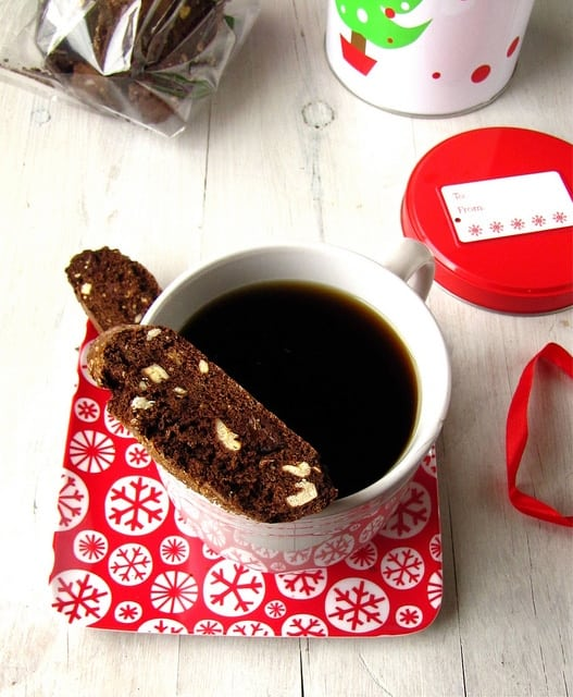 Chocolate Biscotti| Miss in the Kitchen