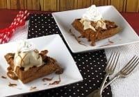 Waffle Wednesday: Chocolate Waffle Ice Cream Sundaes