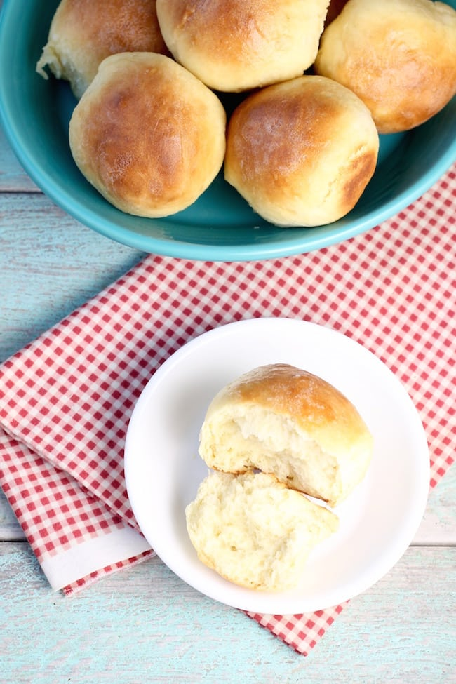 Perfect holiday dinner rolls ~ Angel Rolls