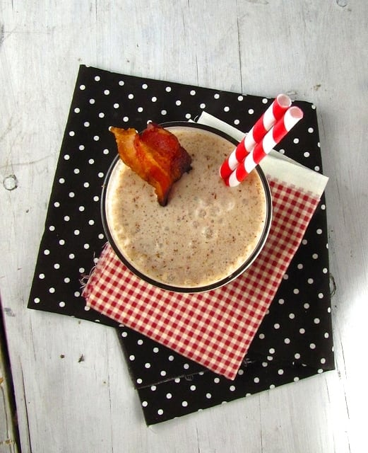 Bacon Mocha Milkshake - Miss in the Kitchen