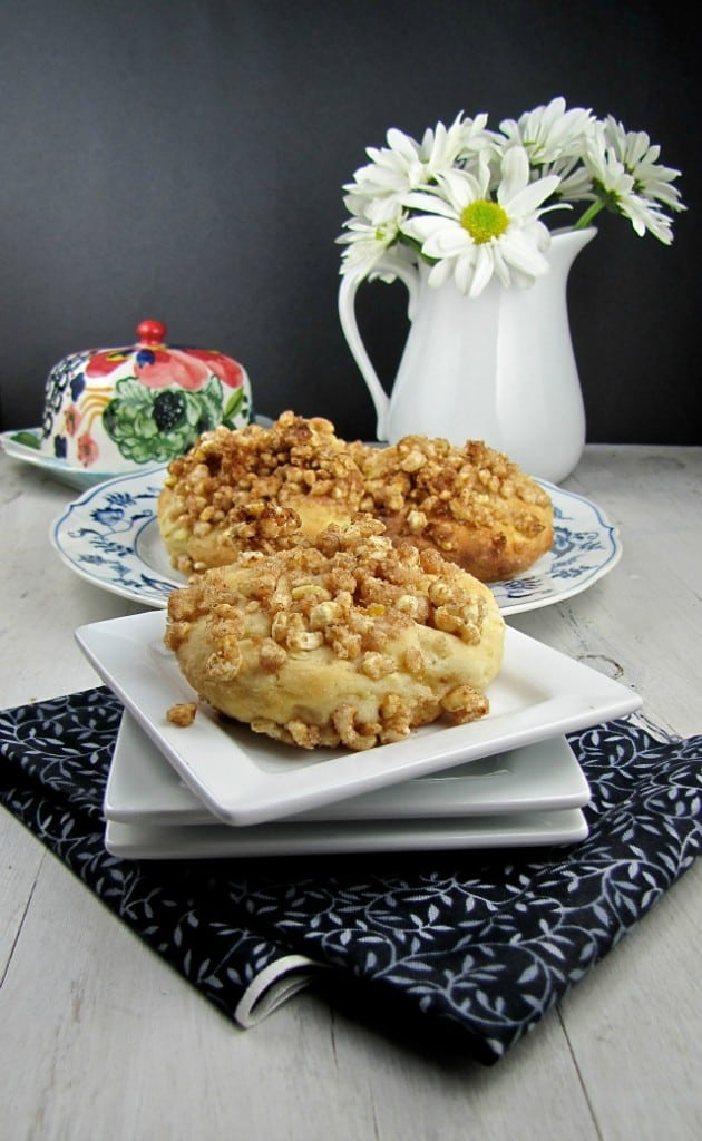 Apple Crumble Scones 1 - Miss in the Kitchen