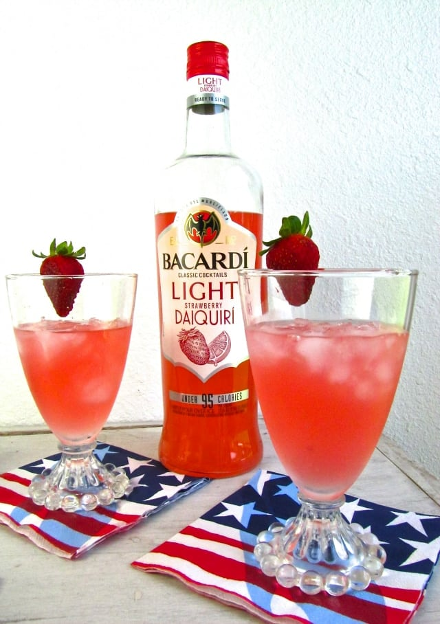 Bacardi Light Strawberry Dacquiri