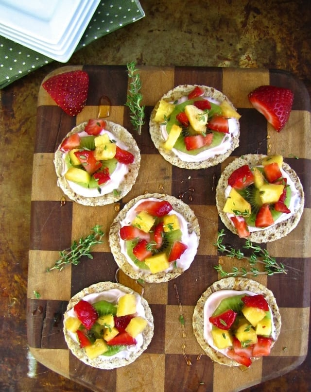 Light and Easy Fruit Tarts from Miss in the Kitchen