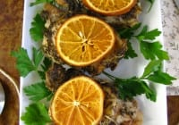 Savory Citrus Chicken Slow Cooker Recipe from Miss in the Kitchen