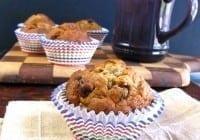 Biscoff-Banana Chocolate Chip Muffins