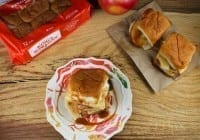 Creamy Caramel Apple Sliders