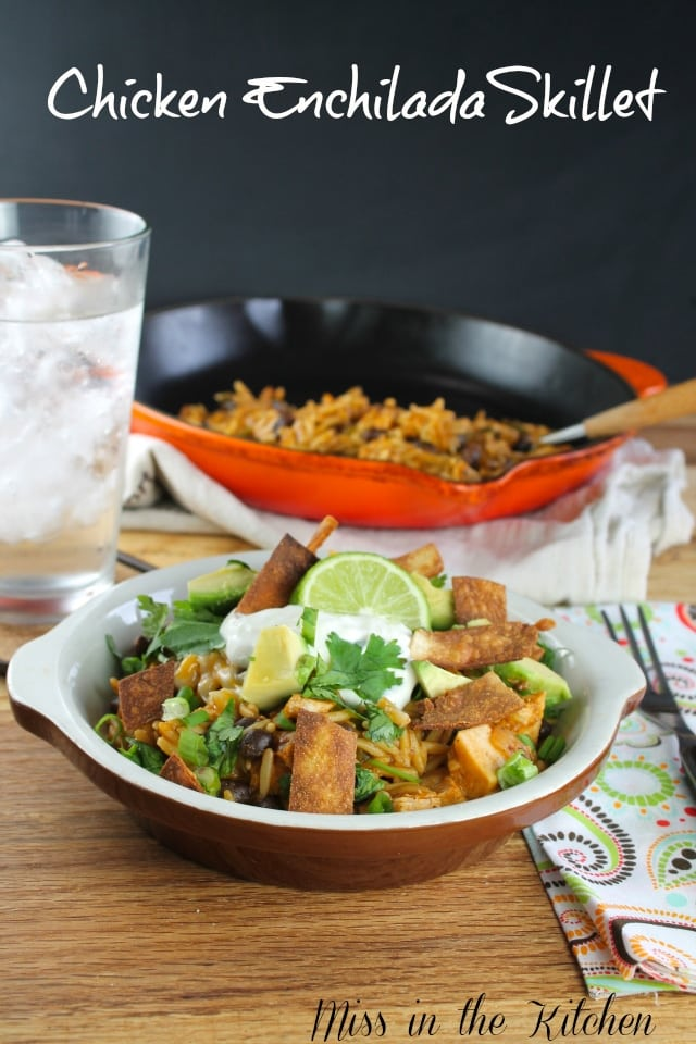 pacific Chicken Enchilada Skillet