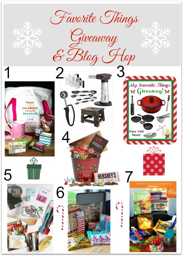Favorite Things Blog Hop Favorite Things Giveaway & Blog Hop