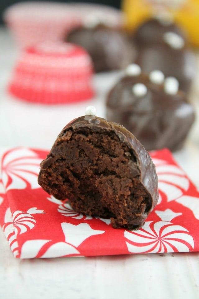 Mocha Brownie Truffles Mocha Brownie Truffles