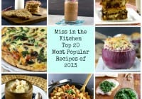 Top 20 Most Popular Recipes of 2013