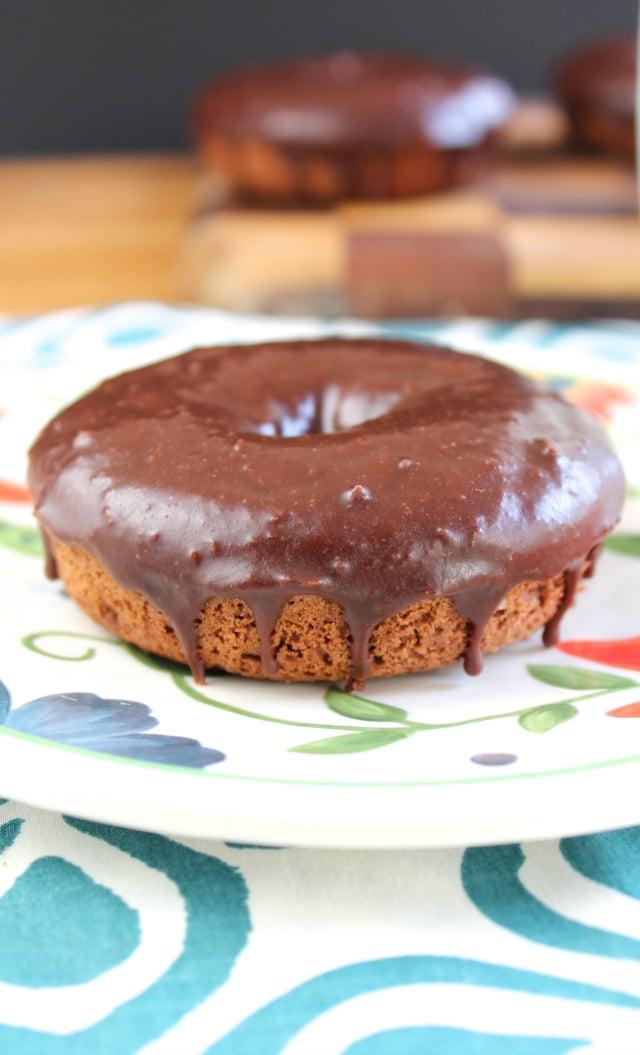 Chocolate Donuts with Mocha Glaze Recipe