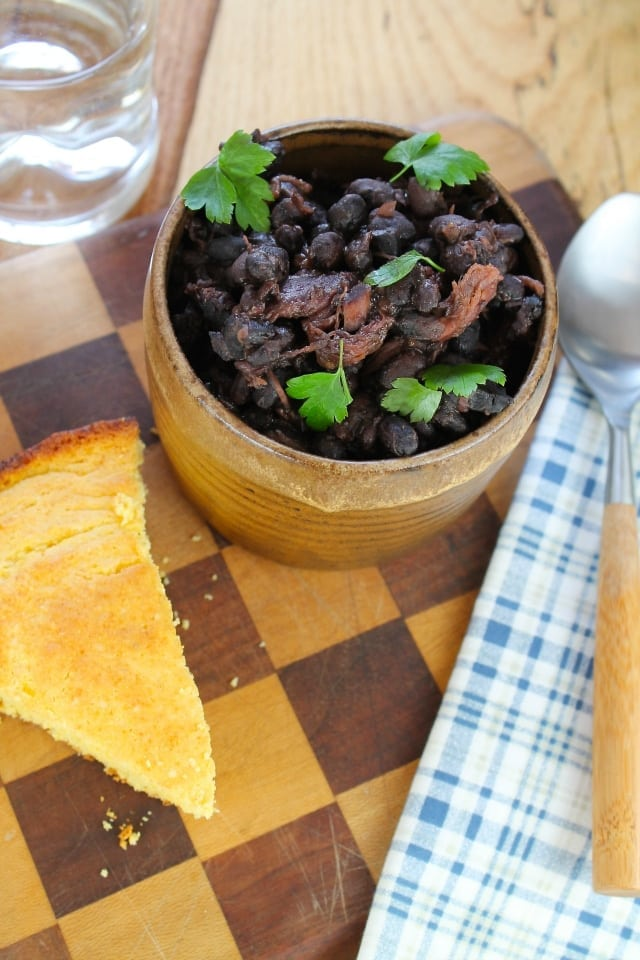 Black Beans and Ham from Miss in the Kitchen