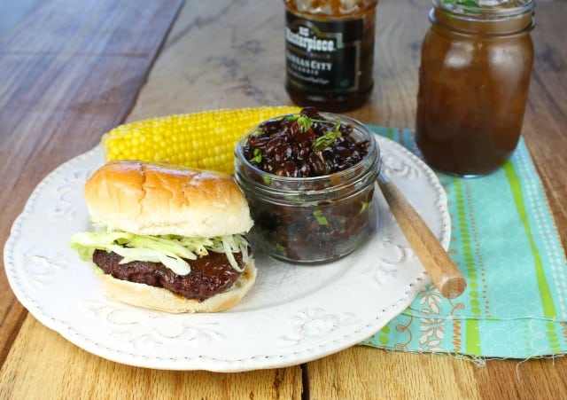KC Masterpiece Barbecue Skillet Beans