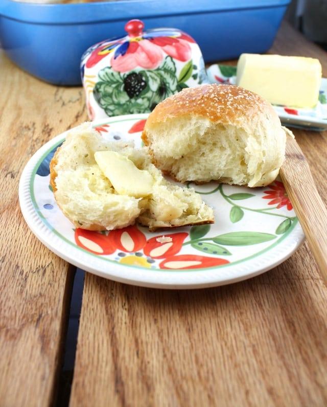 how to make brioche rolls